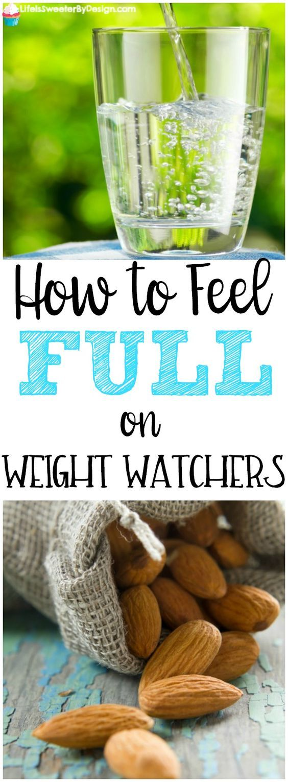 Find out how to feel full on Weight Watchers. It is hard to be successful if you feel hungry all the time. These tips for staying full and satisfied will help you reach your weight loss goals.