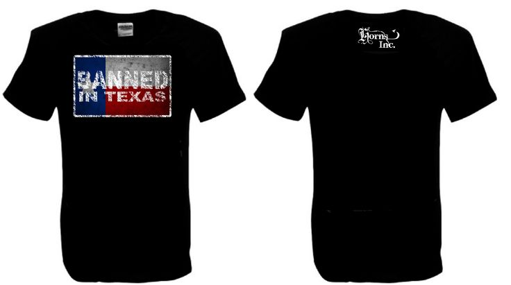 Banned in Texas Mens T shirt Sizes S-5XL. Buy Now from SCM facebook store.
