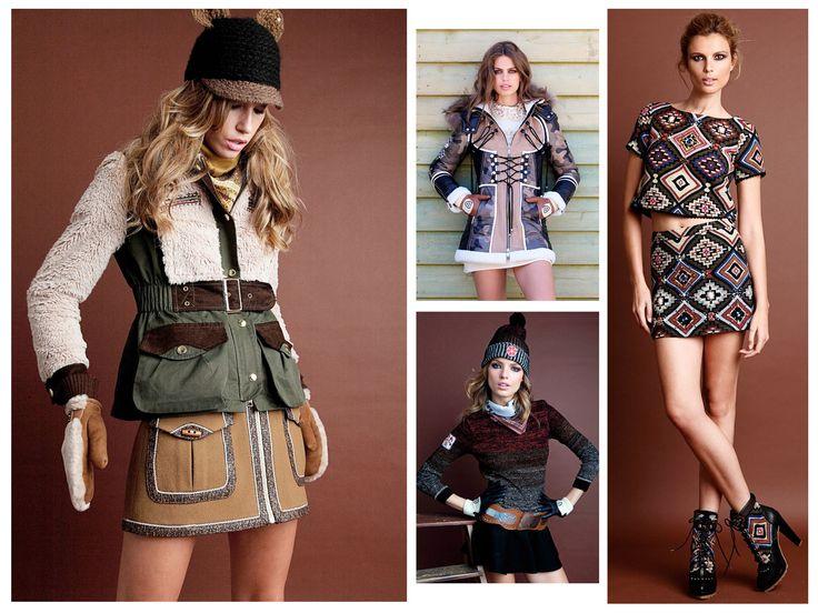 Lookbook West Love Story - Highly Preppy  // Barbour + vestido tapicero