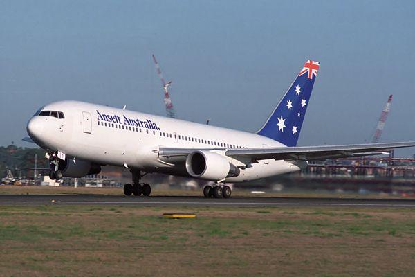 Ansett Australia Boeing 767-200 (VH-RMD)