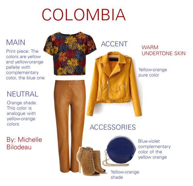 """COLOMBIA - MICHELLE BILODEAU"" by michelle-bilodeau on Polyvore featuring moda, Alice + Olivia, Joseph y Michael Kors"