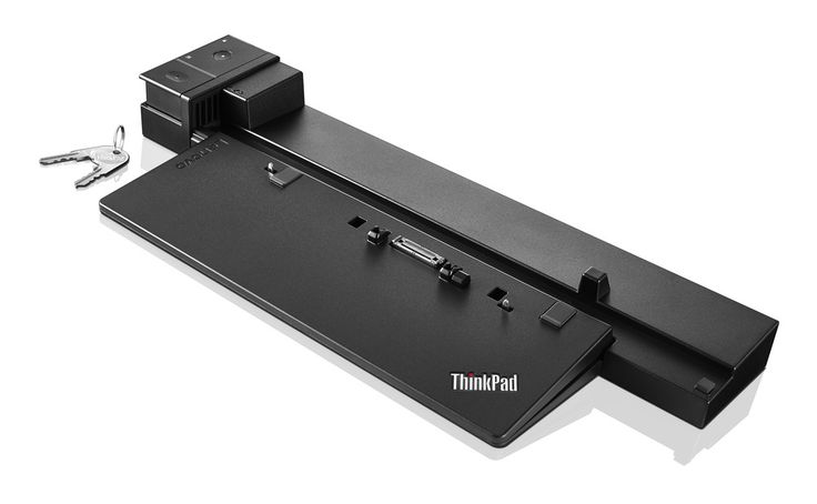 Lenovo ThinkPad Workstation Dock - (ID/VN) - 40A50230EU Features and Benefits:   •  6x USB 3.0, one supports always-on USB charging   •  10/1000 Gigabit Ethernet, supports enterprise manageability   •  2x DisplayPort 1.2*   •  1x DVI-D*   •  1x HDMI 1.4*   •  1x VGA*   •  1x Stereo/Mic Combo Audio Port   •  Driver-free, perfect video quality   •  Security Lock conveniently secures both your notebook and dock to your desk with a single key http://www.ativn.com/product/2135/vn