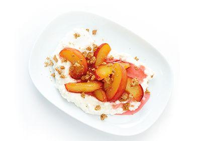 Douceurs aux #nectarines #dessert #express