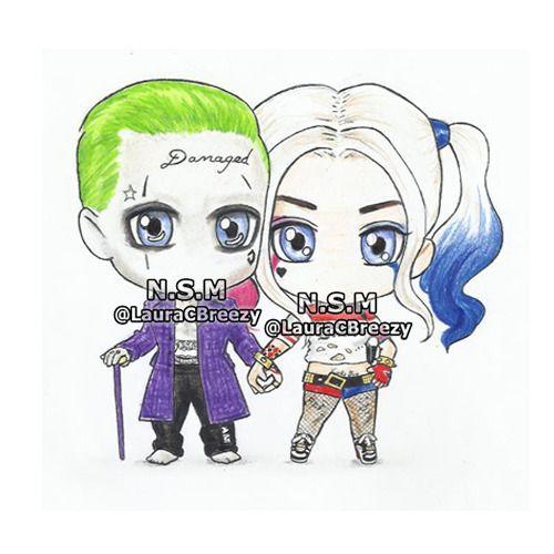 The Joker ❤ Harley Quinn (ORDERED)