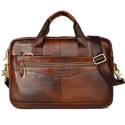 0ce11b2a5b ... men s clothing deals. Luxury Genuine Leather Briefcases Laptop Bag