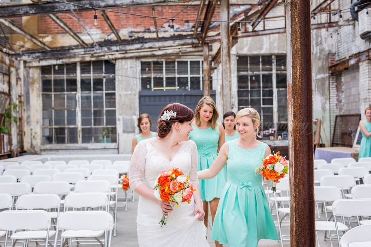 Industrial Wedding Strongwater Food And Spirits Columbus