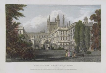 New College, From the Garden | Sanders of Oxford