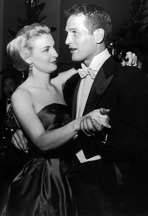 Joanne Woodward and Paul Newman - one of the few longtime Hollywood marriages.