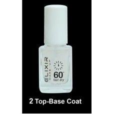 Βερνίκι Νυχιών Elixir No 2 Top Base Coat 13ml