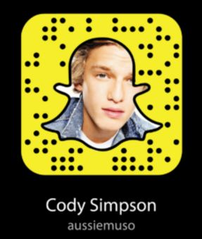 Cody Simpson Snapchat Name - Username & Snapcode  #CodySimpson #snapchat https://gazettereview.com/2017/06/cody-simpson-snapchat-name-username-snapcode/