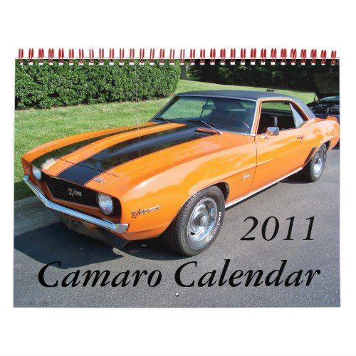 2011 Camaro Calendar