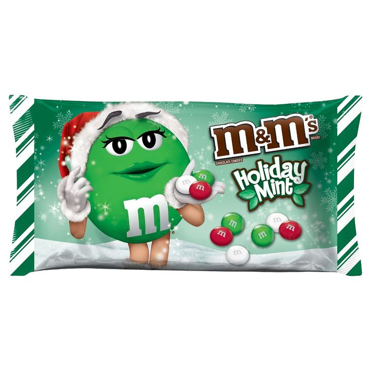 M&M's Holiday Mint Bag 9.9oz