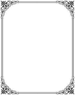Hasil Gambar Untuk Bingkai Undangan Tanpa Tulisan Calligraphy