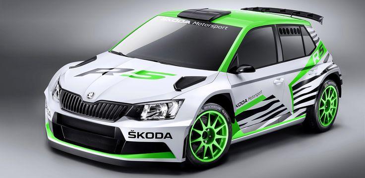Skoda Fabia R5 WRC-2 rally car will debut in Essen - http://www.caradvice.com.au/322232/skoda-fabia-r5-wrc-2-rally-car-will-debut-in-essen/