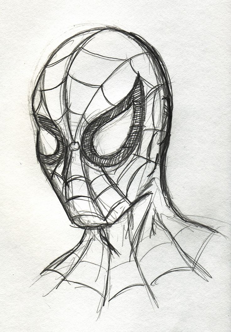 Drawings of super heroes the daily scribble at vynsane for Awesome face drawing