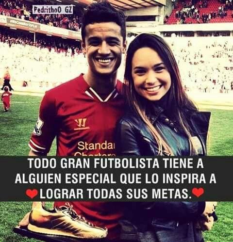 Todo Gran Futbolista Tiene A Alguien Especial Que Lo Inspira A Lograr Todas Sus Metas
