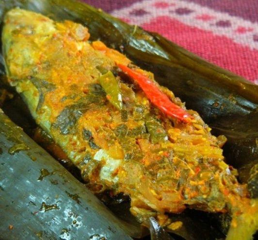 Resep Pepes Ikan Kembung dan cara membuat | BacaResepDulu.com