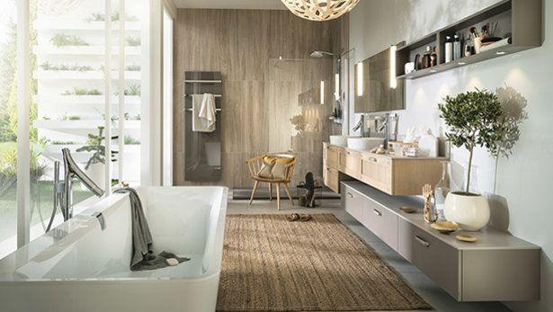Meubles de salle de bain sur-mesure design, moderne, bois | Mobalpa