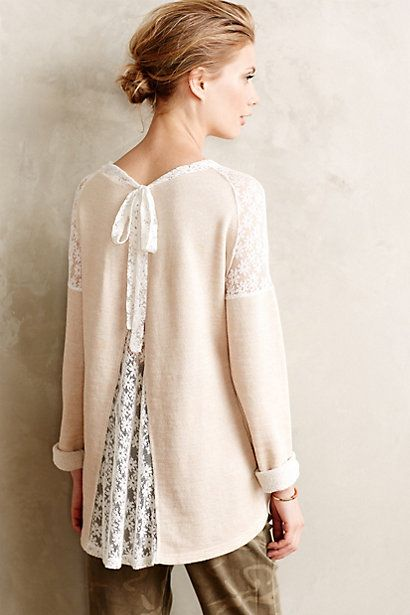 #Ingress #Lace #Pullover
