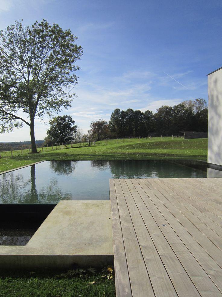 Landscape garden. Design Patrick Verbruggen