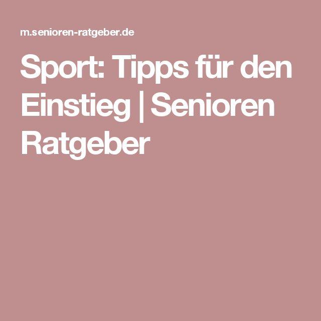 Sport: Tipps für den Einstieg | Senioren Ratgeber