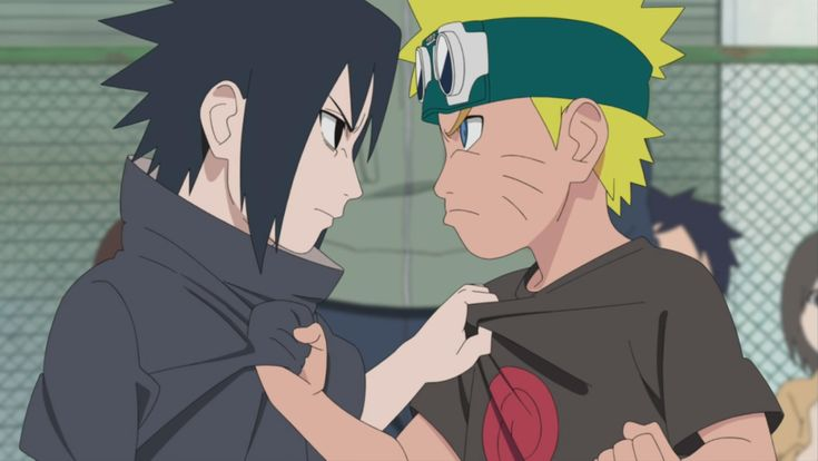 Young sasuke and Naruto