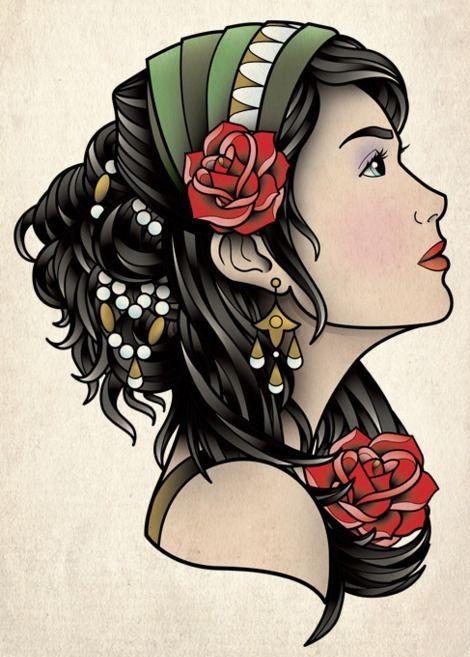 Top 10 Gypsy Tattoo Designs
