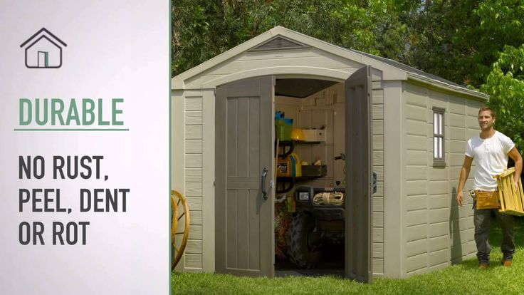 Keter Factor 8x11 Shed. Read an in-depth review: