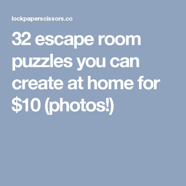 Things Similar To Escape Rooms