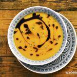 Narancsos sütőtökkrémleves