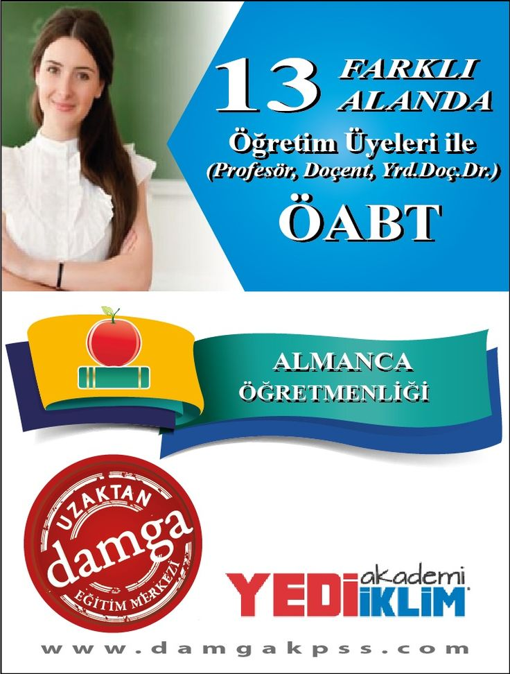 Almanca ÖABT ; www.damgakpss.com
