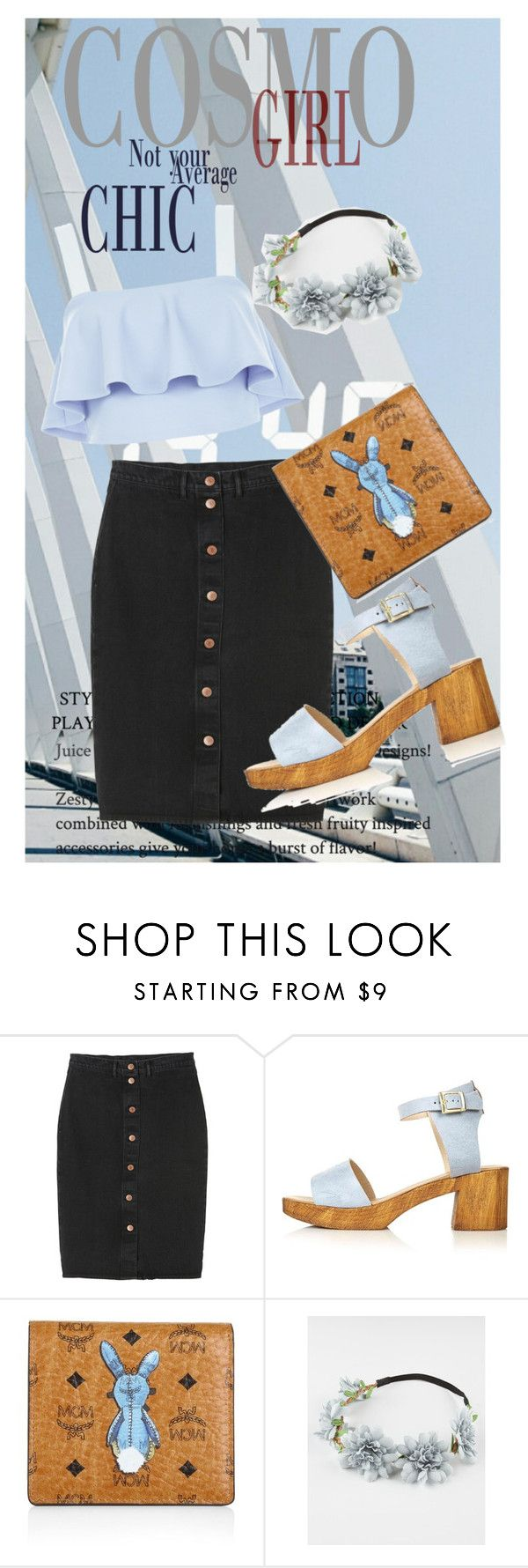 """""""cosmo chic"""" by anya2991 on Polyvore featuring Monki, Topshop, MCM, Full Tilt and New Look"""