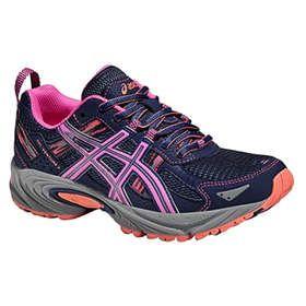 Gel-Fujitrabuco 5 G-TX, Chaussures de Trail Femme, Violett (Parachute Purple/Safety Yellow/Black), 37,5 EUAsics