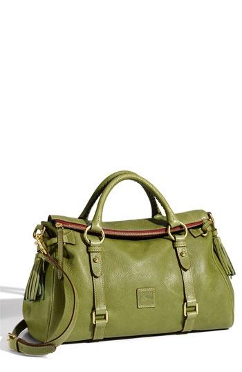 Dooney & Bourke 'Florentine' Vachetta Leather Satchel. IT COMES IN GREEN NOW…