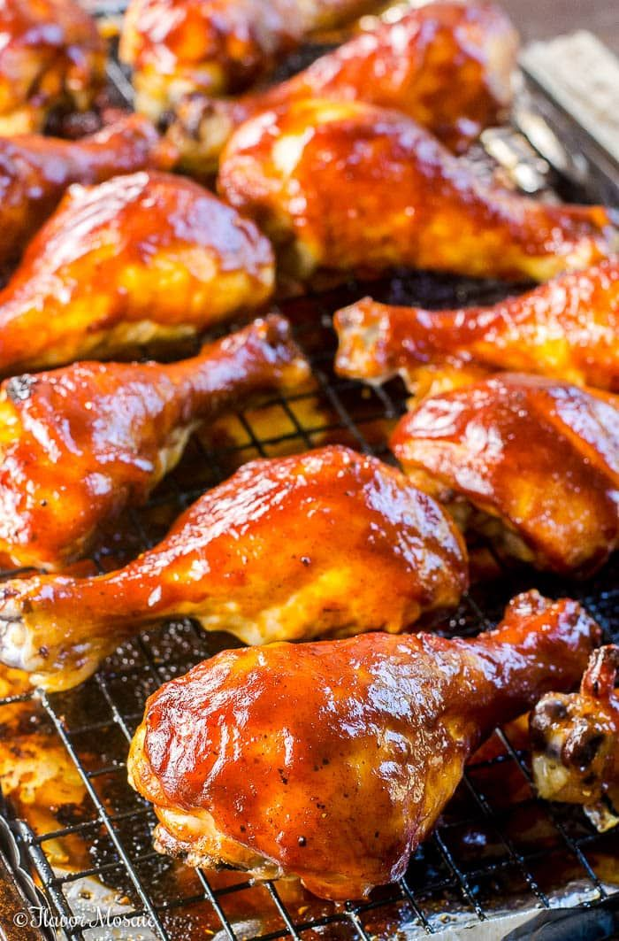 This Easy Oven Baked Bbq Chicken Makes A Sweet Tangy Smoky