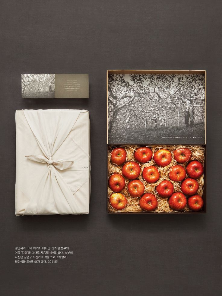 Apple packaging