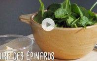 Epinards - Cuisson facile et rapide - Gourmand