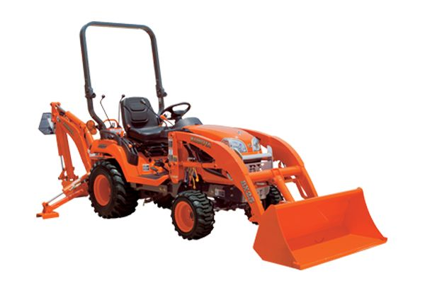 ENGINE TYPE – Kubota D902-E4-BX-1, Liquid Cooled, 3 Cylinder Diesel ENGINE GROSS POWER – 17.1 kW (23.0 HP) PTO POWER – 13.2 kW (17.7 HP) TRANSMISSION – HST, High-Low Gear Shift (2F/2R) TURNING RADIUS (W/O BRAKE)- 2.3 m 3-POINT HITCH CATEGORY – I LIFT CAPACITY AT LIFT POINT – 550 Kg TRACTOR WEIGHT – 720 Kg