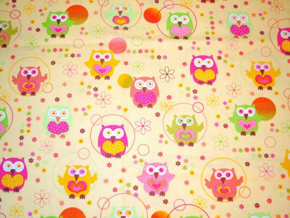 owls!!!: Owl Stuff, Owls Board, Owls They, Beautiful Owls 33, Children Baby Stuff, Owl Obsession, Owl Fabric, Hoot, Kids Rooms