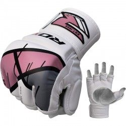 RDX Ladies Leather-X Training Grappling MMA Gloves