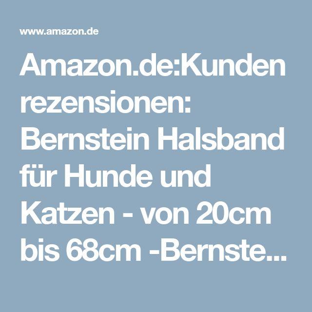 Amazon.de:Kundenrezensionen: Bernstein Halsband für Hunde und Katzen - von 20cm bis 68cm -Bernsteinkette - Zeckenhalsband - Zeckenschutz 30cm