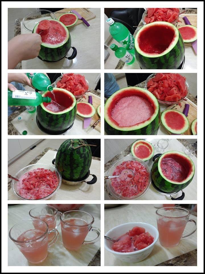 Watermelon-Soju Cocktail Recipe — Dishmaps
