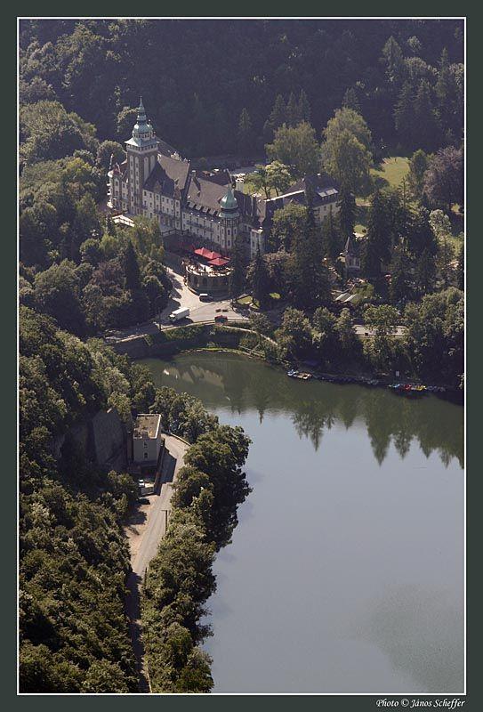 Palace of Lillafüred with Lake Hámori, Hungary
