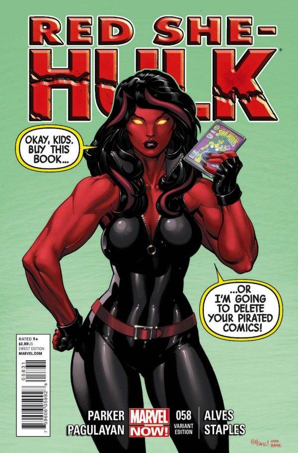 Red She-Hulk Vol 1 58 - Marvel Comics Database
