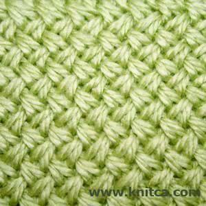 Knitting stitch pattern - Cable 1