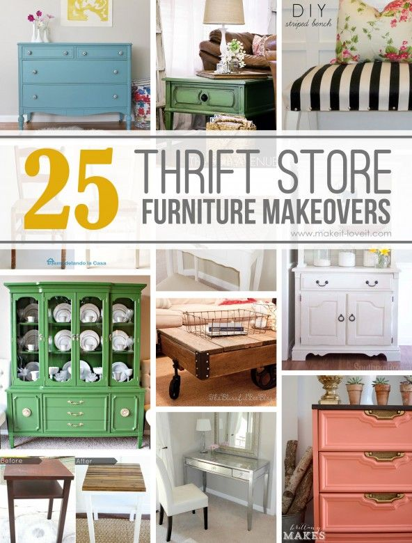 ideas about Thrift Store Furniture on Pinterest