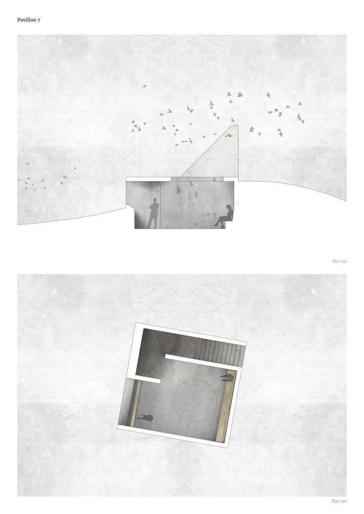 Drawing - Pavilion 7 Rhythms Birds - by Diana Lindboe