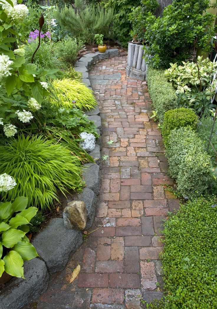 1755 best images about walkway ideas on pinterest stone Ideas for garden paths