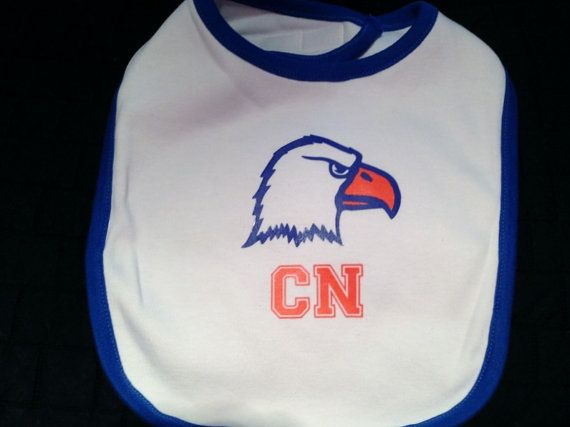 Carson Newman Baby Bib by TickleMeTurquoise on Etsy