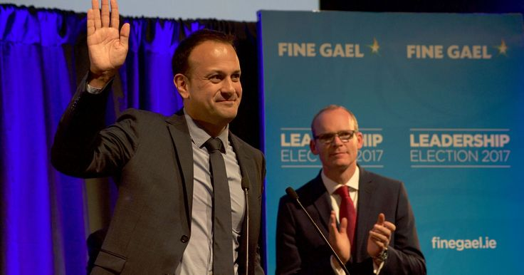 Leo Varadkar, son of an Indian immigrant, to be Ireland's first openly gay prime minister #World #iNewsPhoto